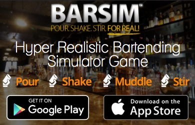 BarSim is a ground breaking, Hyper Realistic Bartending Simulator App & Bartender Game